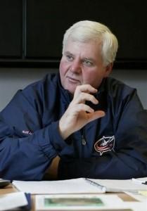 Columbus Blue Jackets Coach Ken Hitchcock