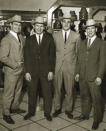 Bobby Hull, Stan Mikita , Phil Esposito and Chico Maki