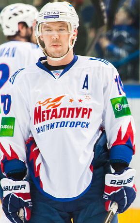 Magnitogorsk forward Sergei Mozyakin (WikiCommons/Александр Головко)