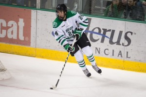 Schmaltz will be a junior this school year (Eric Classen, UND Sports)